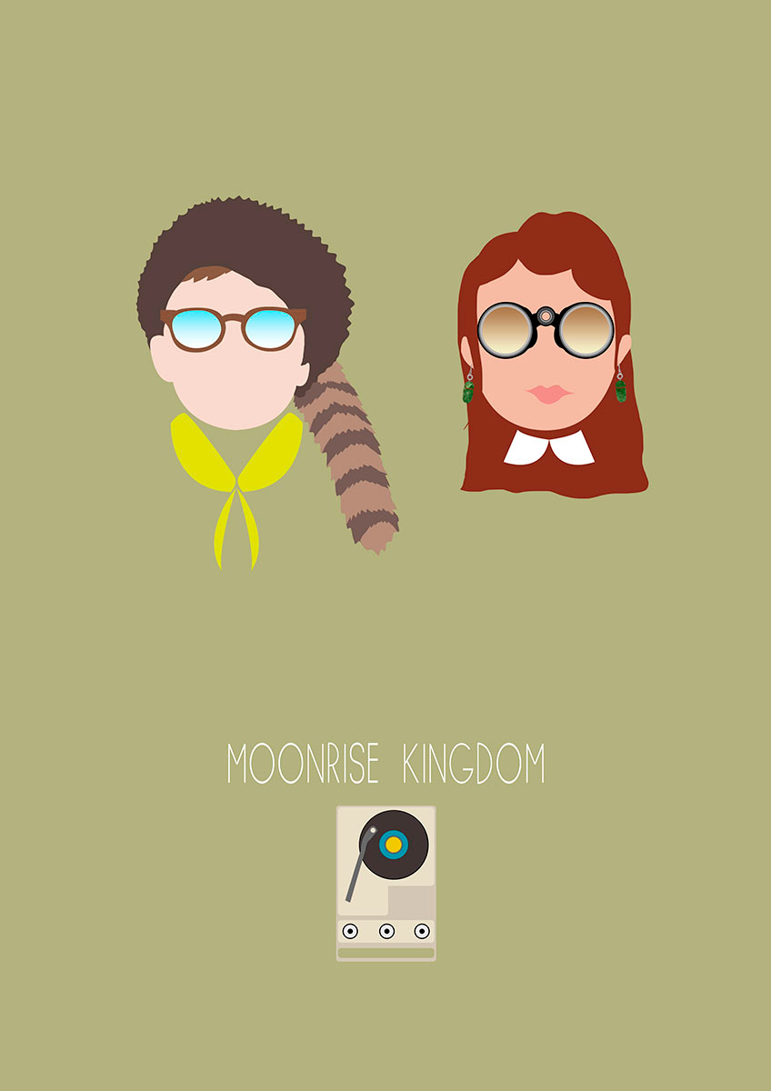 Minimal Poster Moonrise Kingdom