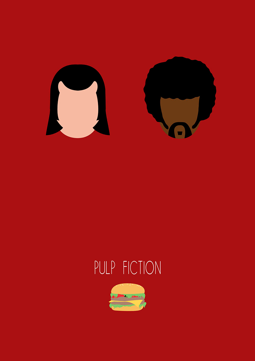 Minimal Poster Pulp Fiction